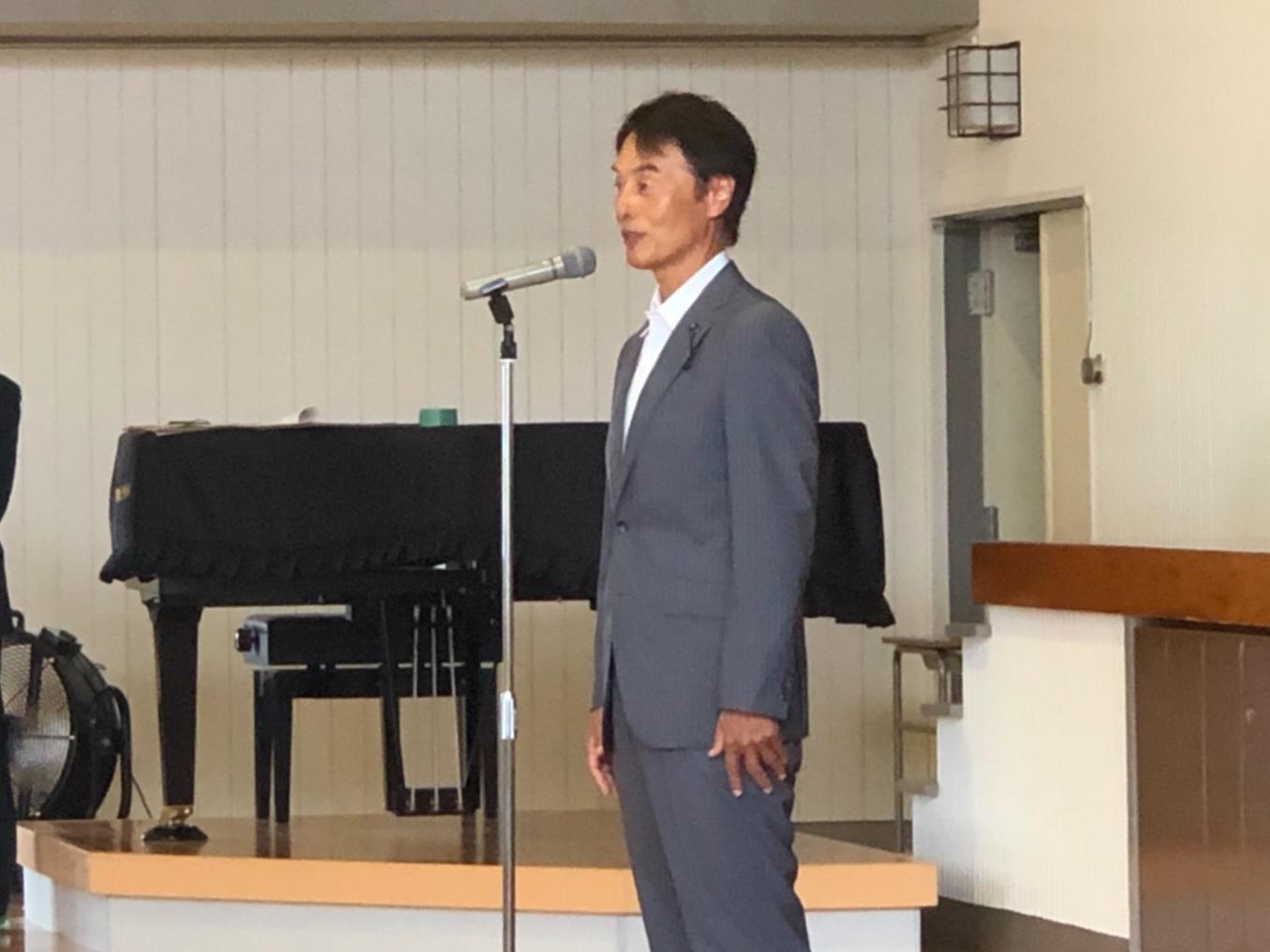 参加された皆様は 戦後の激動の時代を生き抜き 現代の平和な日本のために尽力をされてこられた方々です  今日の平和な日本で健やかに不自由なく生活を営むことができるのも 皆様のおかげと感謝申し上げます   元気なお姿を拝察いたし 私も嬉しく思います