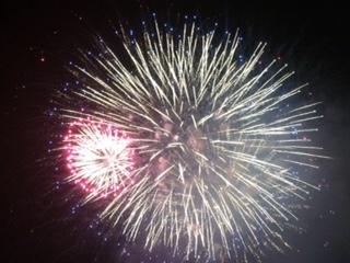に開催されました   今回は2万発の花火が夜空を彩りました   江戸時代から花火が盛んで 地元の花火師の皆さんが伝統を受け継いで下さっています   金魚花火 ナイアガラ 大仕掛花火 スターマインと堪能しました 翌日は各学区で早朝ボランティア奉仕活動で町内美化を行います