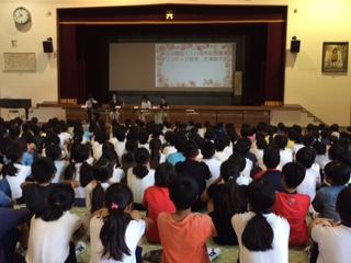 子さん」講演に出席をしました   三浦直子さんは 美合小学校出身でモントリオールオリンピック水泳競技に出場され 三浦直子賞の創設者です   好きなことを見つけて夢中になってください 目標 夢が見つかります そうすれば何をすれば良いかわかりますとのこと 児童も目をキラキラさせて聞き入っていましたし活発に質問をしていました 地域の宝 児童・生徒たちの成長をも守ってまいります   今も現役でスポーツクラブで水泳指導を行われています