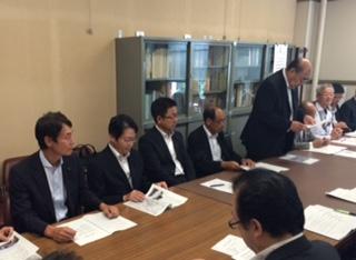 ートしました   午後からは幸田町長 議長 幹部の方々が県庁にお越しになり 愛知県の公共事業の整備促進の要望が行われました   日本は人口減少に転じていますが 本町は増加傾向で 2040年まで増加の見通しです   社会基盤整備に取り組んでまいります
